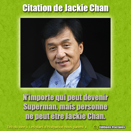 Citation de Jackie Chan