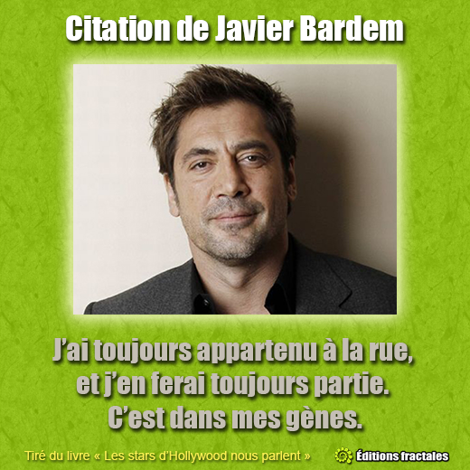 Citation de Javier Bardem