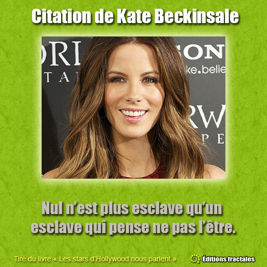 Citation de Kate Beckinsale