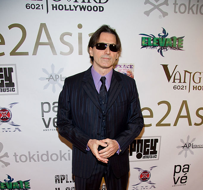 HOLLYWOOD - NOVEMBER 18: Business mogul Philippe Argillier arrives at the Black Eyed Peas' Apl Foundation Launch Party at the Vanguard on November 18, 2008 in Hollywood, California. (Photo by Chelsea Lauren/WireImage)